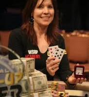 Annie Duke wins the 2010 National Heads Up Poker Tournament